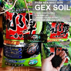 Phân Nền Gex Xanh Đất nền cao cấp Nhật Bản trồng thủy sinh